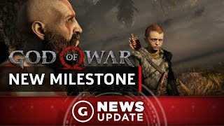 "New God of War PS4 Game Reaches ""Very Exciting Milestone"" - GS News Update"