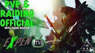ARK SURVIVAL PVP OFFICIAL EXTINCTION RAISING GACHA&WORKING ON NEW BASE DAY 5 (RATED M)(PS4PRO)