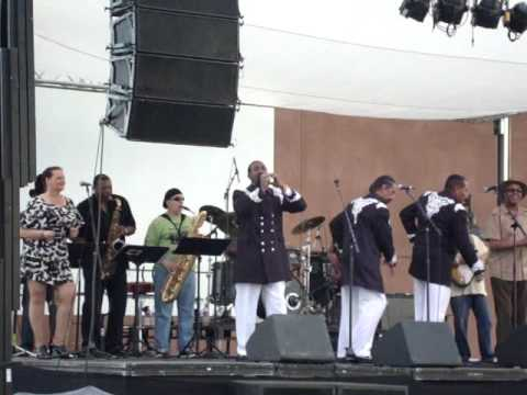 The California Malibu's & Soul Funk 4U ReUnion Band - Valley Springs Music Festival 2012