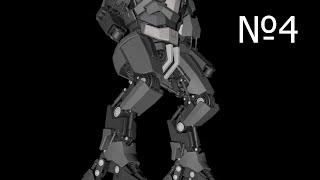 Cinema 4D: Robot: Урок №4 [HD]