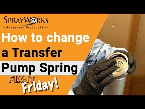 Fix-It Friday! How to replace a GHO Transfer Pump Spring?