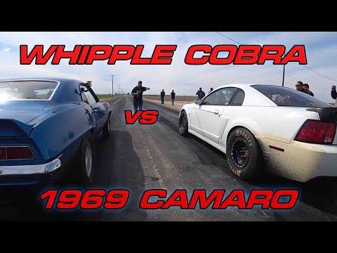 Whipple Terminator vs  '69 Camaro