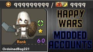 Happy Wars - Modded ACCOUNTS! 20K+ TICKETS 1 BILLION COINS! [XBOX]