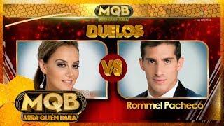 ¡Duelo!: Rosie Rivera vs Rommel Pacheco | Mira quién baila