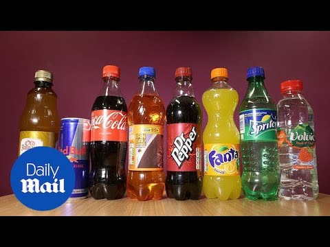 Sugary drinks and unhealthy snacks 'fuelling obesity epidemic among children' - Daily Mail