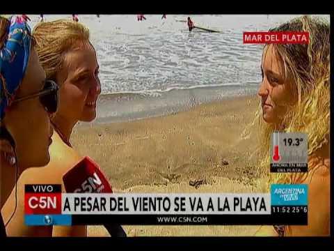 C5N - Verano 2017: C5N en Mar del Plata