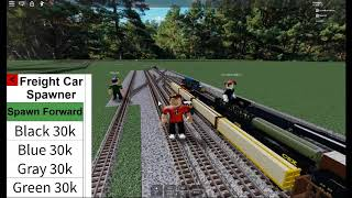 Roblox Railfanning at Ro Scale Joliet