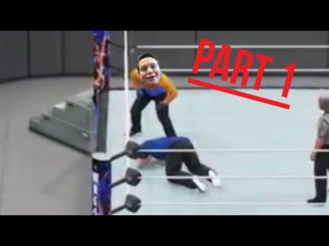 WWE 2K18 : JET Match Pt 1