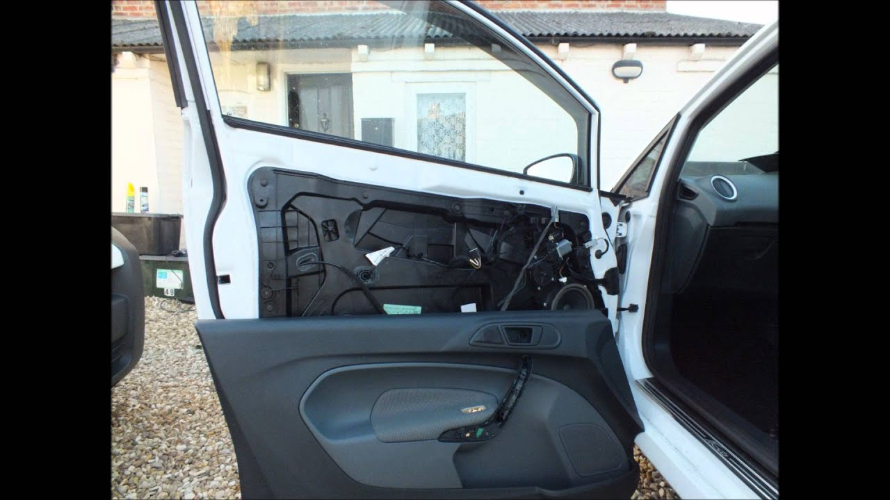 Ford Fiesta Mk7 2008 2012 Door Card Removal Amp Powerfold