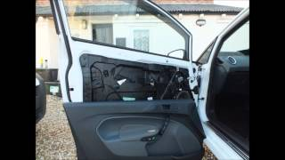 Ford Fiesta MK7 (2008-2012) Door Card Removal & Powerfold Mirror Fitting Guide