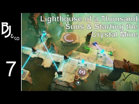 Archaica - Ep 7 - Lighthouse of a Thousand Suns & Starting the Crystal Mines