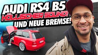JP Performance - Höllischer Sound & fette Bremse | Audi RS4
