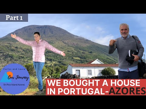 We bought a house in Portugal - Azores - Pico Island - Part 1 in series - A Dream come true Ep 19
