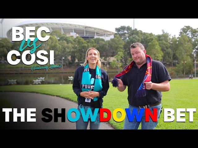 The SHOWDOWN Bet | Bec Cosi and Lehmo
