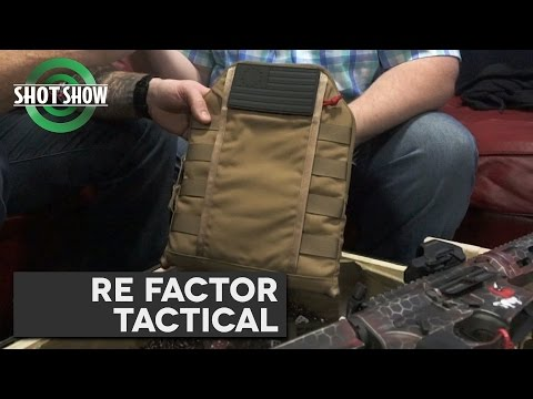 REFT Plate Carrier IFAK - SHOT Show 2017!