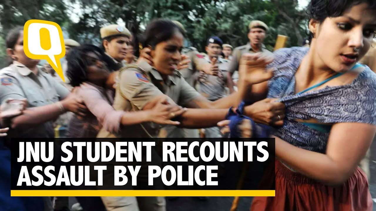 Download Heard Them Say 'Kapde Phaado': JNU Student Sheena Thakur Recounts Police Assault