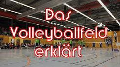 Das Volleyballfeld erklärt vom VolleyballFREAK