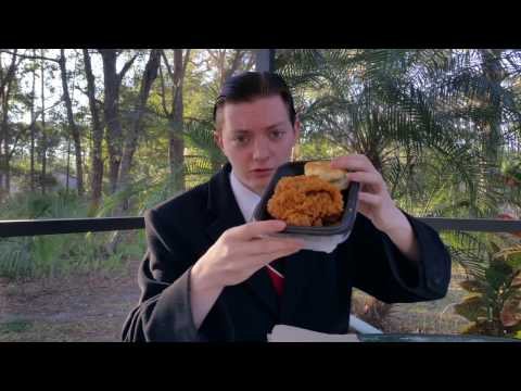 KFC Georgia Gold Chicken - Food Review