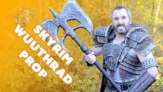 How to Make Wuuthrad the Legendary axe from Skyrim Special Edition - Prop: Shop