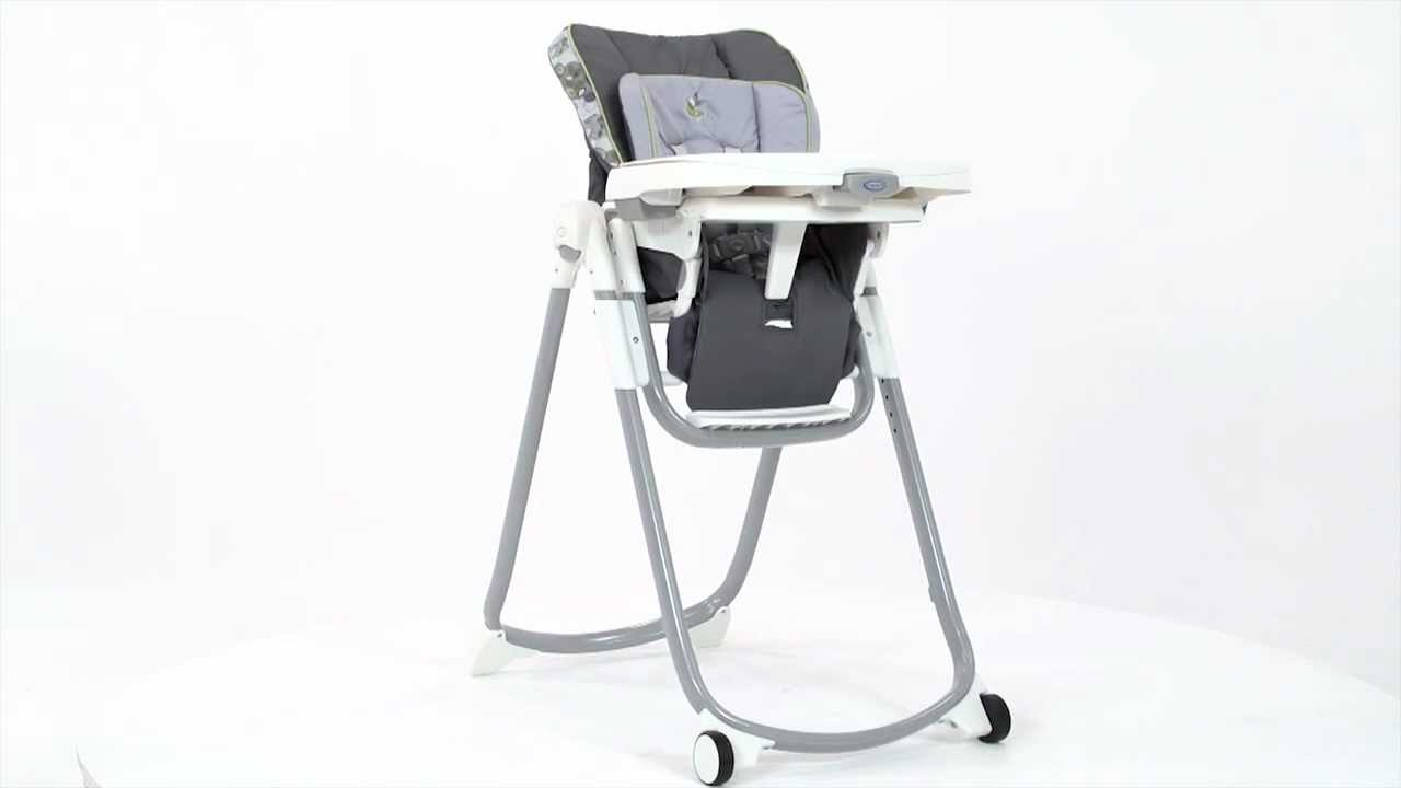 Graco Slim Spaces Highchair Youtube