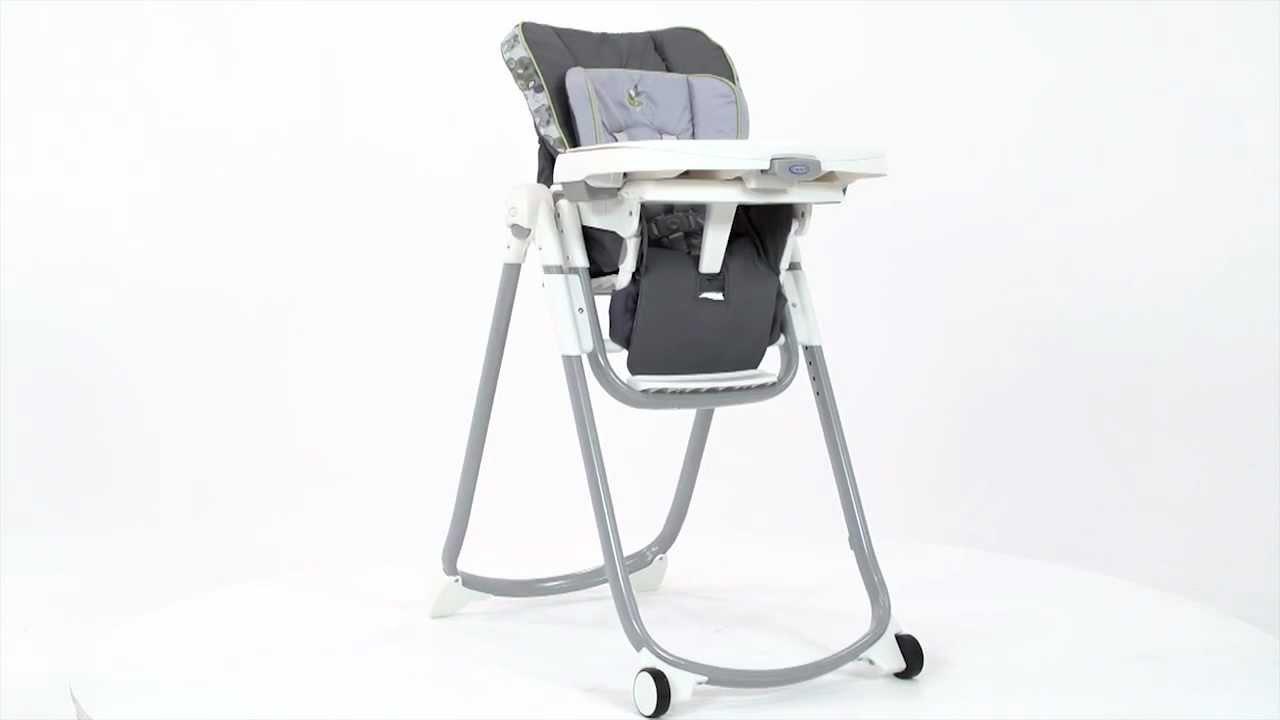 Graco Slim Spaces Highchair  YouTube