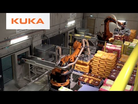 KUKA Robots Help Traditional Family-Run Flour Mill in France