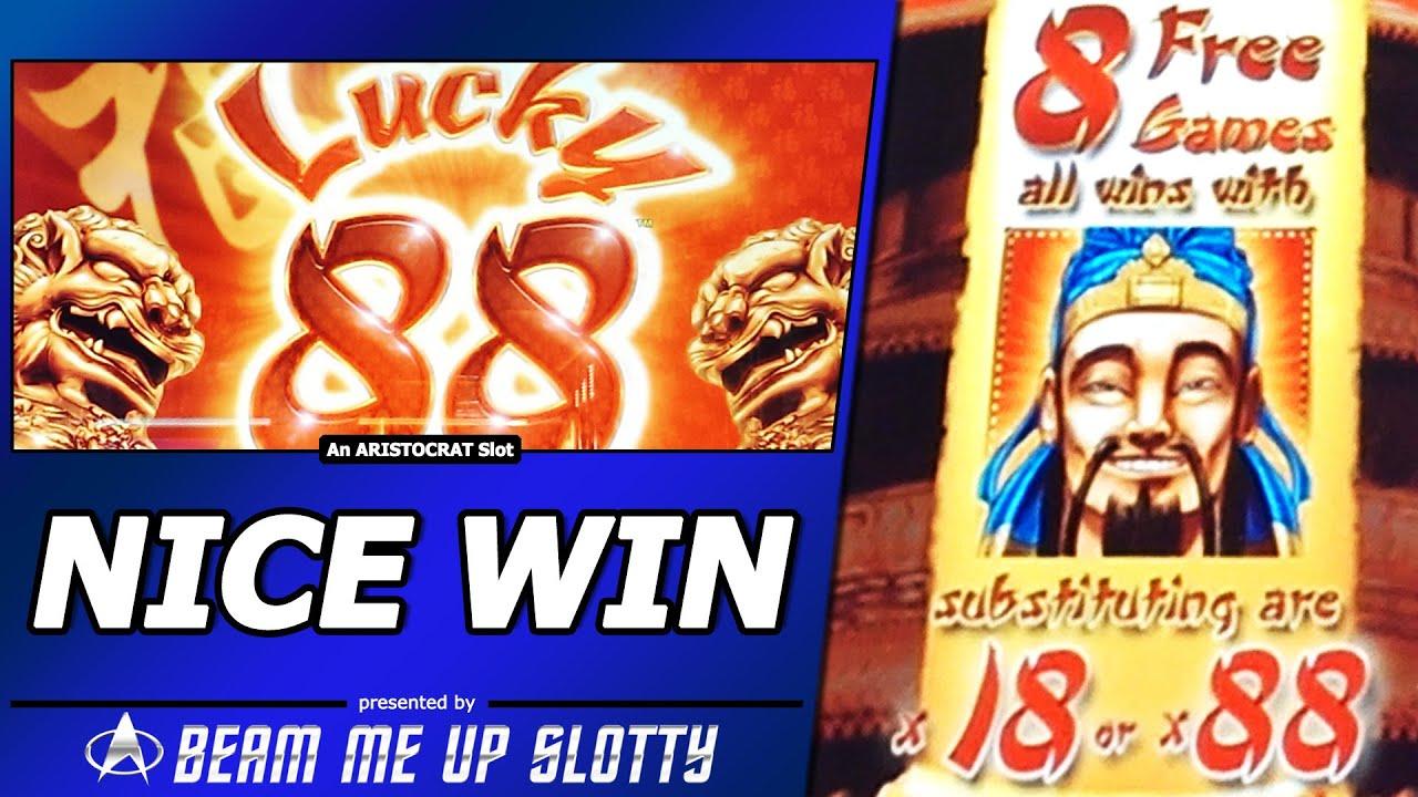 Lucky 88 Slot Wins