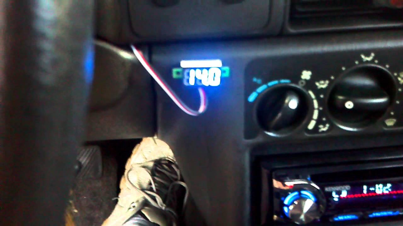 Dodge Neon Voltage Fix