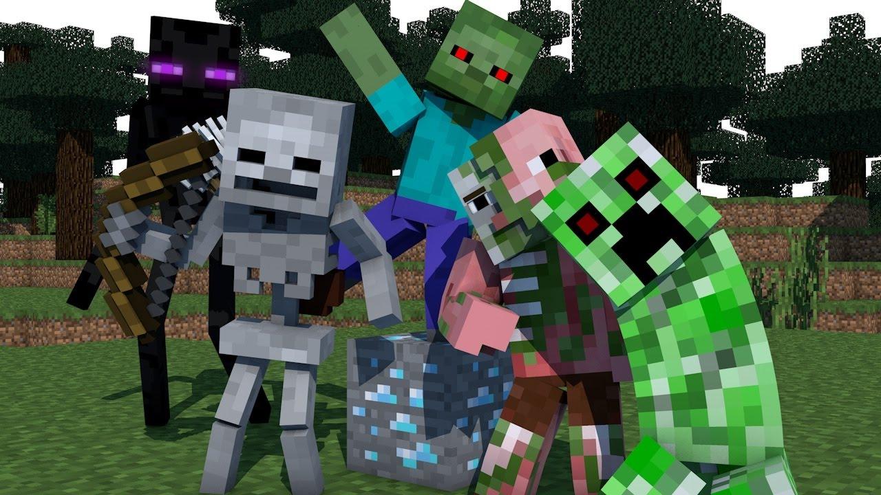 Minecraft Monster School
