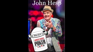 Main Event Day 7: John Hesp