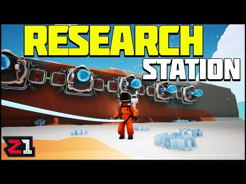 Building a RESEARCH STATION ! Astroneer Update 10 Gameplay | Z1 Gaming