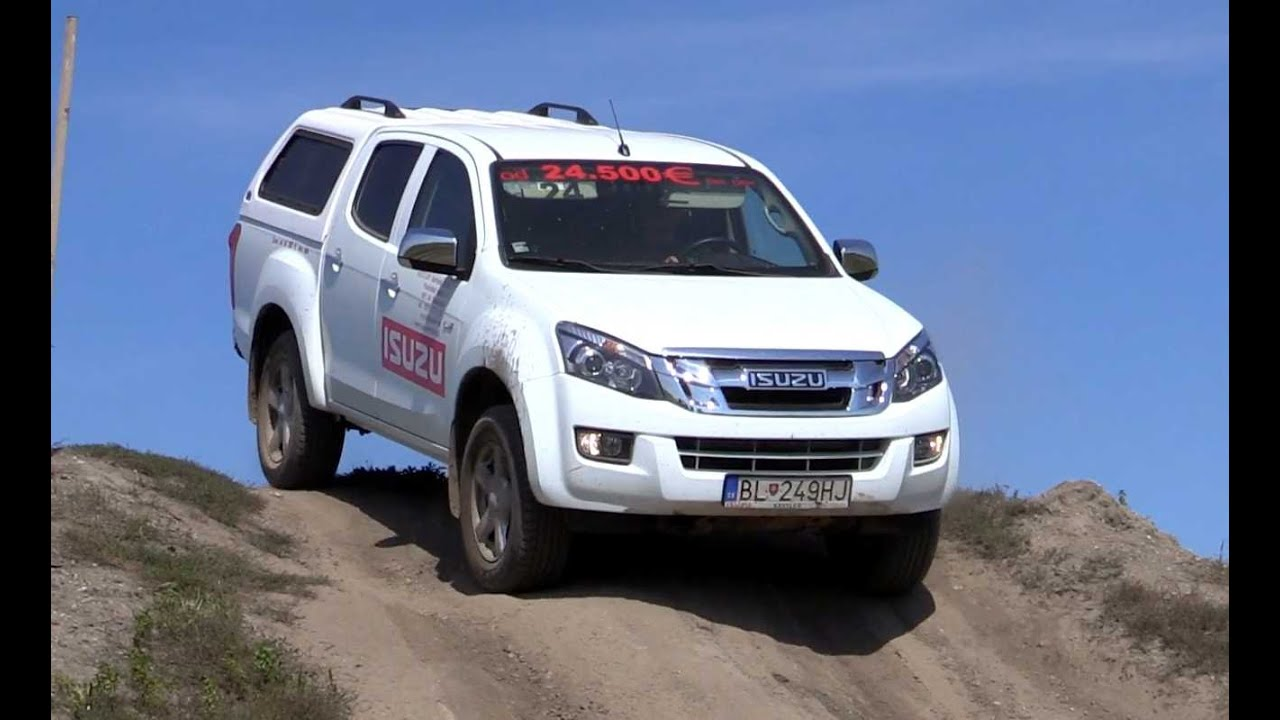 isuzu dmax off road 4x4 test youtube. Black Bedroom Furniture Sets. Home Design Ideas
