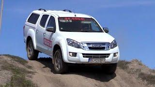 Isuzu dmax Off-road 4x4 test