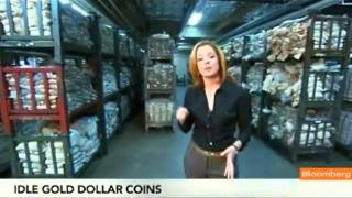 A Billion US Dollar Coins Just Sitting in a Vault !!