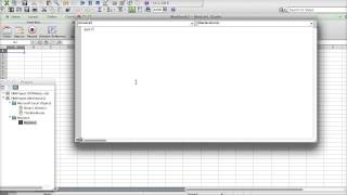 How to Write Your First VBA Program in Excel