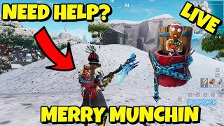 Helping Subscribers UNLOCK GINGERBREAD PET in Fortnite - Merry Christmas
