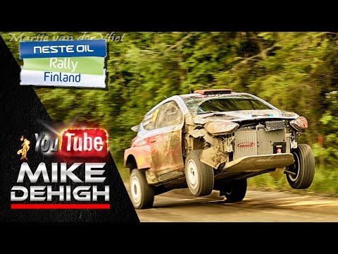 Best Of WRC Rally Finland 2015 Highlights HD Pure Sound