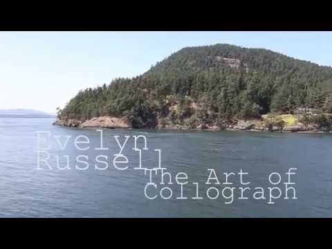 Evelyn Russell  The Art of Collograph