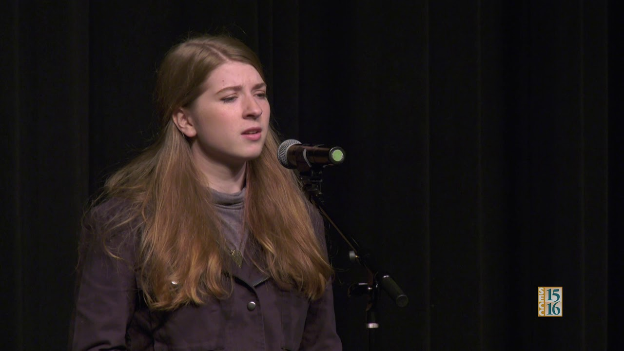 Poetry Out Loud 2018: Marley Ross (Round 2)