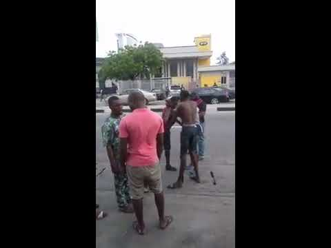 THE FIGHT OF ALL TIME IN LAGOS