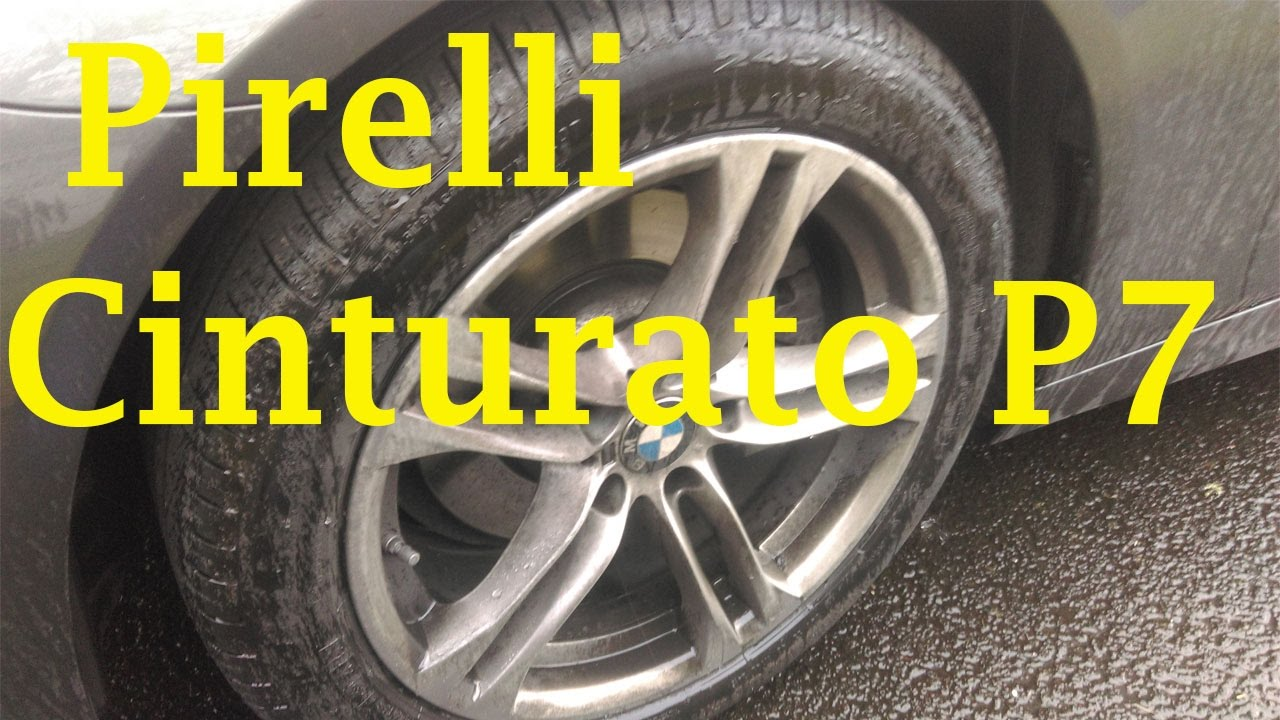 Pirelli Cinturato P7 All Season Plus Review >> Pirelli Cinturato P7 Review Youtube