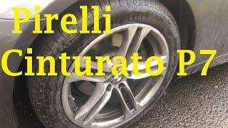 видео Pirelli Cinturato P7