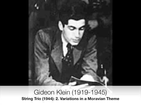Gideon Klein: String Trio (2)