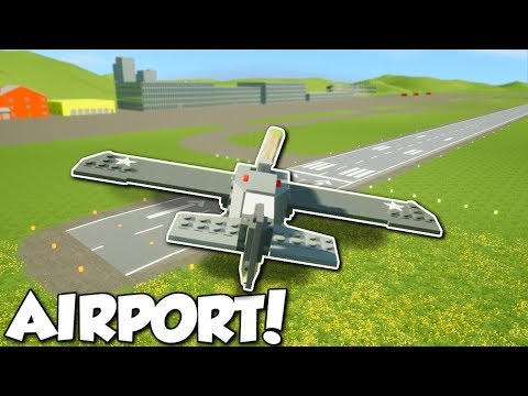 Thumbnail: AIRPORT UPDATE & FLYING PLANES! - Brick Rigs Multiplayer Gameplay - City Airport Update Gameplay
