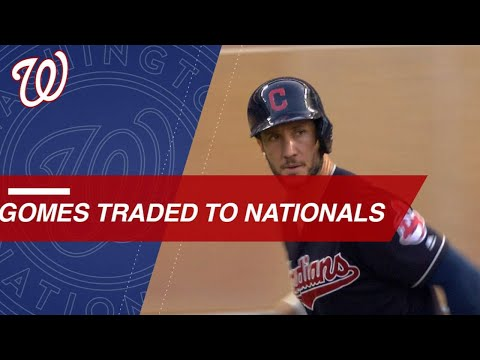 Nationals acquire power potential in catcher Gomes