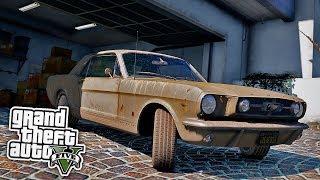 Oldtimer in Garage gefunden! 🤑 - GTA 5 Real Life Mod