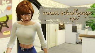 KOSZ NA SIUSIU | Room Challenge #7 | The Sims 4