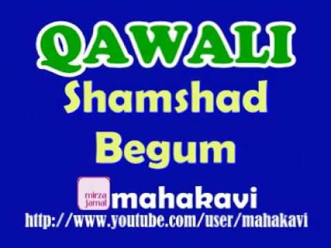 Qawali - Shamshad Begum - Paigham Saba Lai Hai