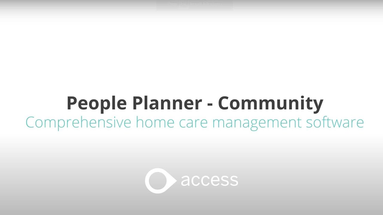 PeoplePlanner | Care Management Solutions