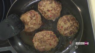 Studio 10: Italian Turkey Burgers And Balsamic Roasted Sweet Potatoes